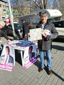 Campagna elettorale:ai mercati